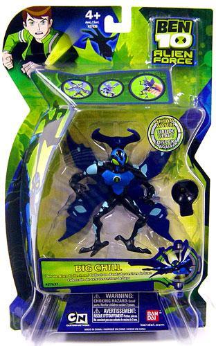 Ben 10 Alien Force Deluxe colección Alien Big Chill acción figura-045557276379-0