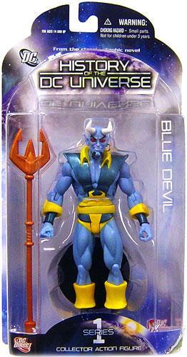 Historia de la figura de acción de DC universo serie diablo azul 1-761941280776-0