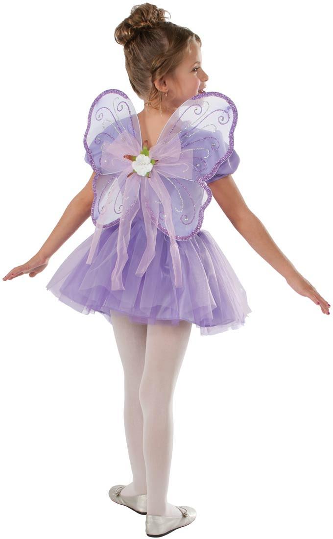 Los Rubíes De Color Púrpura Brillo De Hadas Vestido De Traje, Niño-883028010486-0