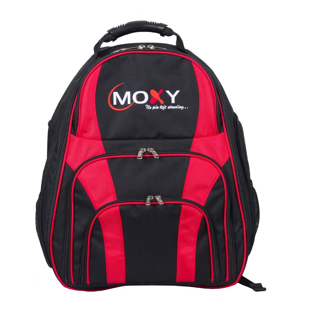 Moxy Dúo De Dos Bolas De Boliche Mochila - Negro/Rojo-043014028158-0