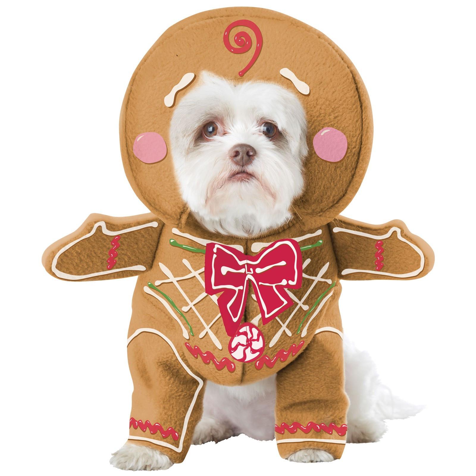 Pan De Jengibre Cachorro De Disfraces De Mascotas-019519094806-0