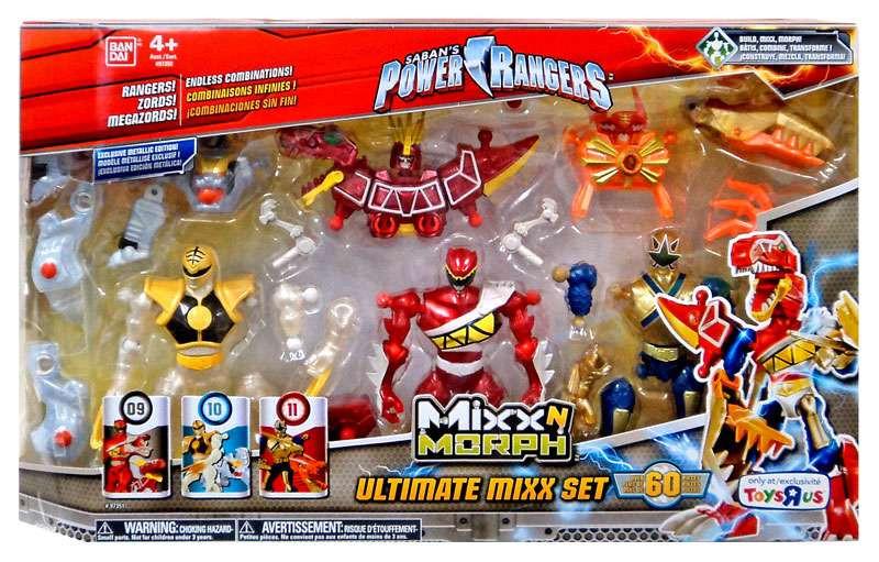 Power Rangers Mixx N Morph Ultimate Set Mixx acción figura multi-Pack-045557973513-0