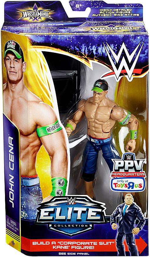 WWE lucha libre figura de acción de John Cena Wrestlemania Elite 30 [silla]-746775347581-0