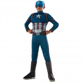 3f9df9b0716 Disfraz para niño Iron Man Capitán América  Civil War Talla S (4-6 ...