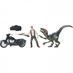 Set de Juego Alpha Raptor, Jurassic World
