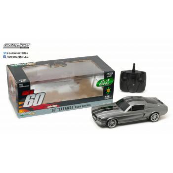 """1:18 Ido en Sesenta Segundos (2000) - 1967 Ford Mustang """"Eleanor"""" de 2,4 GHz de Control Remoto-812982023874-0"""