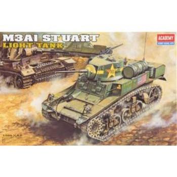 1398 1/35 M3A1 Stuart Tanque Ligero-603550013980-0