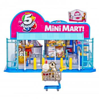 5 Sorpresa Mini Marcas de Electrónica Mini Mart con 4 Misterio Mini Marcas Playset por ZURU - -193052016256-0