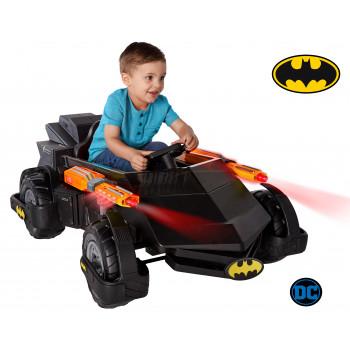 6V DC Comics Batman Batmobile Rideon-680674017285-0