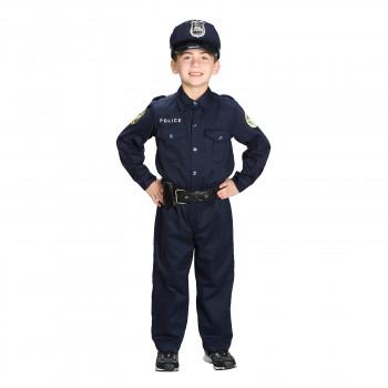 Aeromax Jr. policía traje traje-698216106847-0
