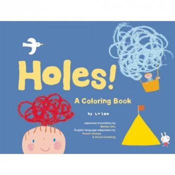 Agujeros!: un libro para colorear-819347341242-0