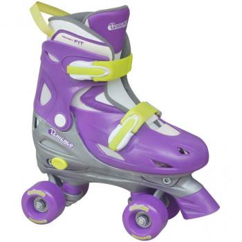 Ajustable patines Quad las muchachas de Chicago-039035034858-0