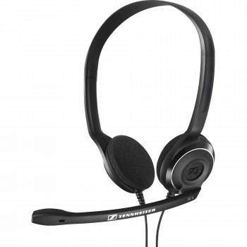 Auriculares de Sennheiser PC 8 doble cara sobre la cabeza USB, negro-615104225282-0