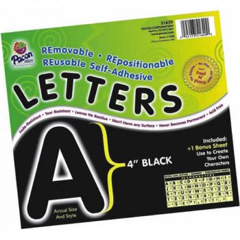 """Autoadhesivo de 4"""" letras, paquete de 78, rojo-045173516217-0"""