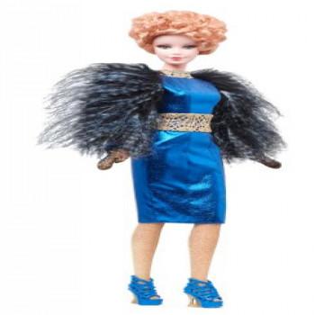 Barbie Collector De Los Juegos Del Hambre: Catching Fire Effie Baratija De La Muñeca-885451165733-0