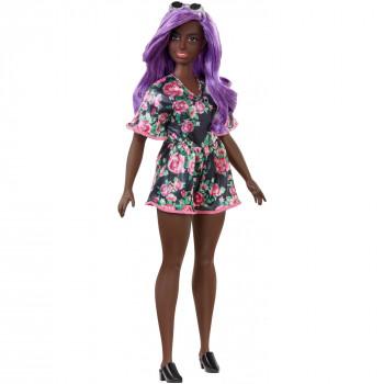 Barbie Fashionistas De Muñeca, Cuerpo Con Curvas Tipo De Desgaste Floral Mameluco - -887961694635-0