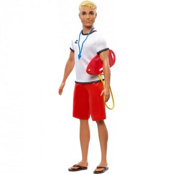 Barbie Ken Carreras de Salvavidas de la Muñeca con la Carrera de Temática Accesorios - -887961696899-0