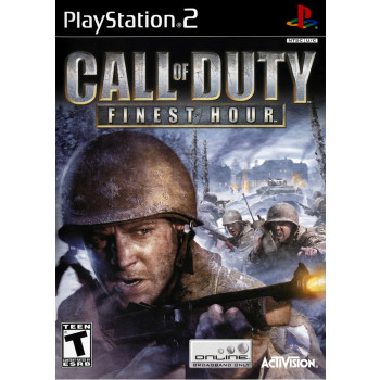 Call of Duty Finest Hour - PlayStation 2-047875807075-0