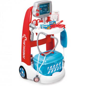 Carrito con accesorios y sonidos Smoby Doctor Playset --52620707-w-0