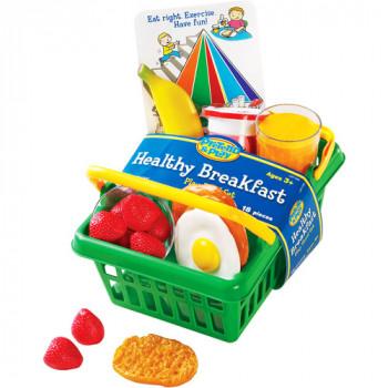 Cesta de desayuno de juego de recursos de aprendizaje-765023072907-0