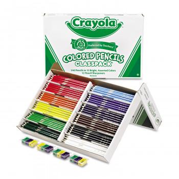 Classpack de lápiz Crayola Color 240-Conde-071662080242-0