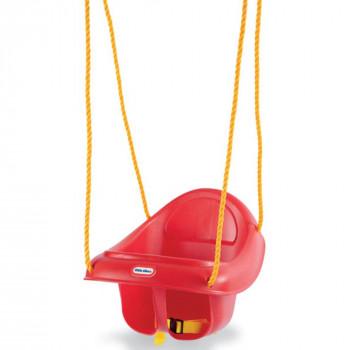 Columpio con espalda alta para niños - Little Tikes -050743637247-0