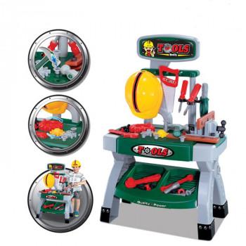 Conjunto de herramientas para niños - Juego de roles - Ideal para pequeños constructores - -868336000329-0