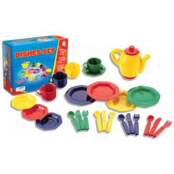 Conjunto de plato de 25 piezas-086002018977-0