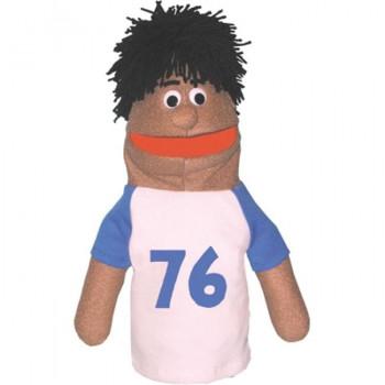 Consiga listo 303A muchacho atlético carismática marioneta-afroamericanos-18 pulgadas-618974024092-0