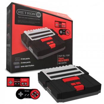 Consola RetroN 2 Hyperkin 2en 1 para SNES/ NES-813048013303-0