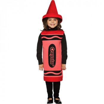 Crayola Roja Del Traje De Halloween-791249450519-0