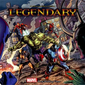 Cubierta superior Marvel legendario edificio de cubierta juego-053334803663-0