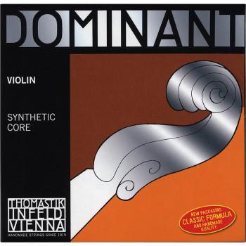 Cuerdas de violín de tamaño dominante de cuerdas 1/4 cuerda acero 1/4, extremo de la bola-039181010065-0
