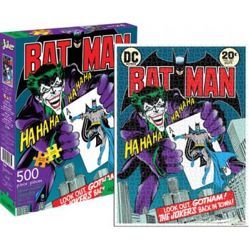 Dc Comics Joker 500 PC Rompecabezas-840391107359-0