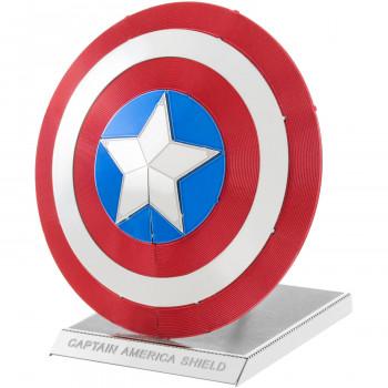De Metal de la Tierra 3D, Corte Láser Modelo, Marvel los Vengadores, el Capitán América Escudo-032309033212-0