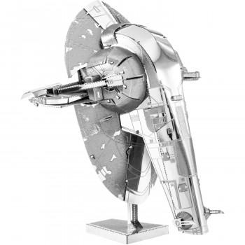 De Metal de la Tierra 3D, Corte Láser Modelo, Star Wars Slave I-032309012606-0