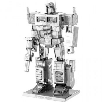 De Metal de la Tierra 3D, Corte Láser Modelo, Transformers Optimus Prime-032309033007-0