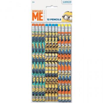 Despreciable Me secuaces lápices, ct 12-011179647125-0