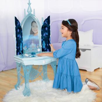 Disney Frozen 2 de Elsa Encantado de Hielo Característica Interactiva de la Vanidad de las Características Momentos de la Película y Juega 2 Canciones e incluye 7 Accesorios de Juego - -192995202894-0