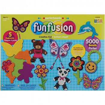 Diversión de Perler fusión fusible grano valor actividad Kit, niño creativo-048533569441-0