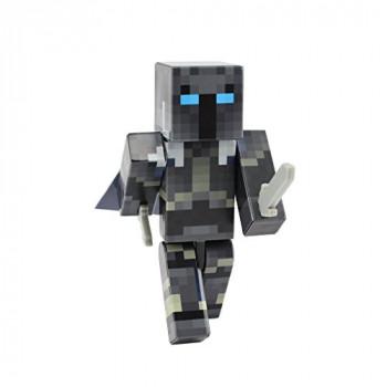 El hierro de la Armadura de Cruzado de la Figura de Acción de Juguete, de 4 Pulgadas Personalizado Serie de Figuras, EnderToys [No oficial de Minecraft producto]-787793219337-A-0