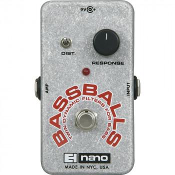 Electro-Harmonix Nano Bassballs sobres filtro bajo efectos Pedal-683274010533-0