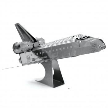 Fascinaciones de Metal de la Tierra de la NASA del Transbordador Espacial Discovery de Corte Láser 3D de Metal Kit de #MMS015D-032309010152-0
