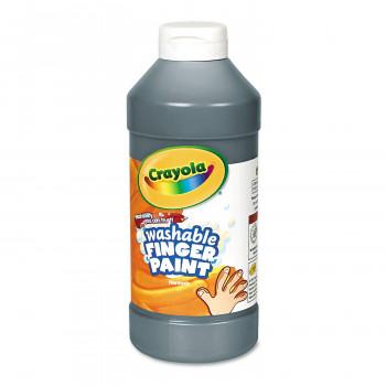 Fingerpaint lavable Crayola, negro, 16 oz-071662565510-0