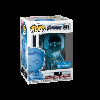 Funko POP! Marvel: Avengers Endgame - W2 - Hulk (Azul Cromo) (Walmart Exclusivo) - -889698413534-0