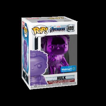 Funko POP! Marvel: Avengers Endgame - W2 - Hulk (Púrpura Chrome) (Walmart Exclusivo) - -889698413589-0
