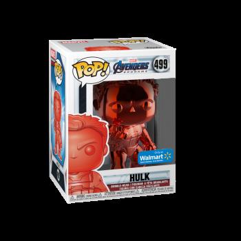 Funko POP! Marvel: Avengers Endgame - W2 - Hulk (Rojo Chrome) (Walmart Exclusivo) - -889698413565-0