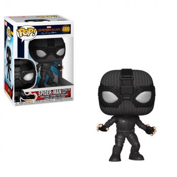 Funko POP! Marvel Lejos De Casa: Spider-Man (Traje De Invisibilidad), El Llavero - -889698392082-0