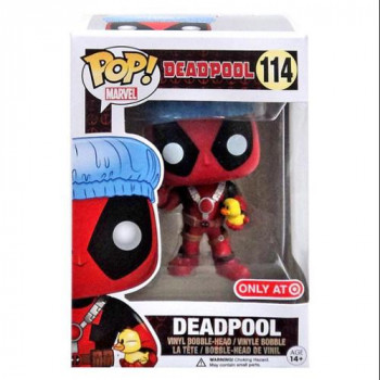 Funko Pop De Marvel: Deadpool Hora Del Baño Exclusivo Vinilo Figura-849803074913-0