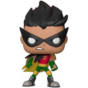 Funko Pop TV: Teen Titans GO la Noche Empieza a Brillar-Robin Figura Coleccionable-889698286787-A-0